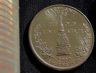 - 2000-D Denver Mint Maryland State Quarter BU