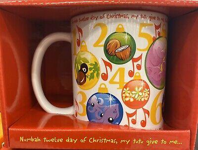 Hawaiian 12 Days Of Christmas (Hawaiian Original 12 Twelve Days Of Christmas coffee tea cup mug Hawaii NIB)