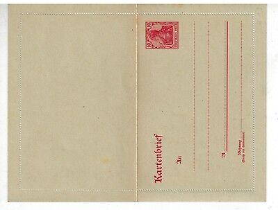 Deutshes Reich Kartenbrief K 13 ungebraucht - int.Nr.103