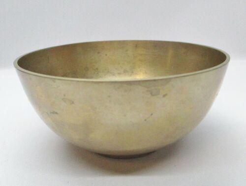"Vintage Traditional Korean Brass 4"" Bowl Made In Korea"