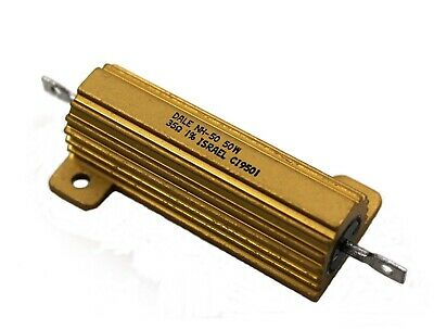 Dale Nh-50 Gold Block Power Resistor - 35 Ohms 50 Watt 1 - Lot Of 1 Or 3