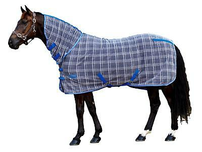 Weatherbeeta Fleece Cooler Sheet Combo with Neck Cover and Lined Shoulders