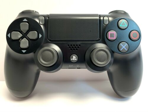 Wireless Jet Black Dualshock controller for Playstation PS4