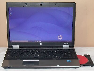 HP Laptop Core i3 15.6 10 Windows Win Pro 4GB WiFi DVD±RW Computer ProBook 6550b