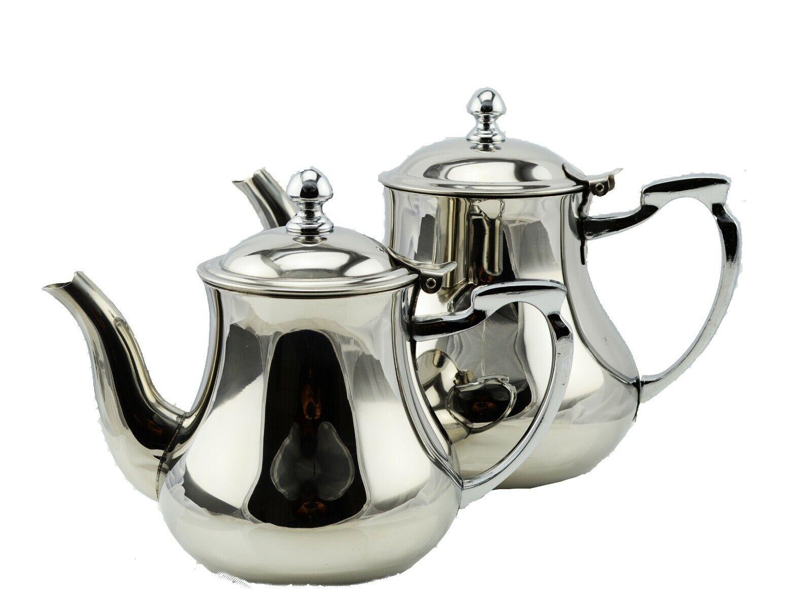 Teekanne Kaffeekanne Edelstahl Marokkanisch Orientalisch Induktion geeignet