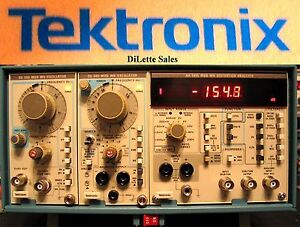 Manual for Tektronix Distortion Analyzer set TM504A AA501A SG505 MOD WQ WR