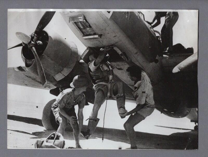 MARTIN 167 MARYLAND RAF BOMBER WESTERN DESERT ORIGINAL VINTAGE 1941 WW2 PHOTO