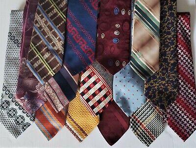 1960s – 70s Men's Ties | Skinny Ties, Slim Ties Lot Mens Funky Vintage 4