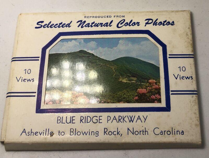 c1940 VINTAGE SOUVENIR PHOTOS 10 MINIATURE VIEWS BLUE RIDGE PARKWAY