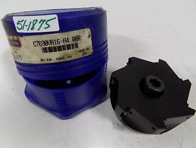 Stellram 4 Indexable Shoulder Milling Cutter Shell Mill C7690va16-a4.00r