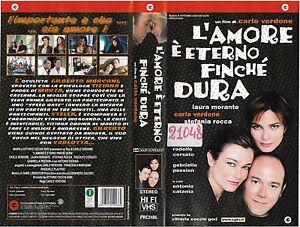 L-039-AMORE-E-039-ETERNO-FINCHE-039-DURA-2003-vhs-ex-noleggio