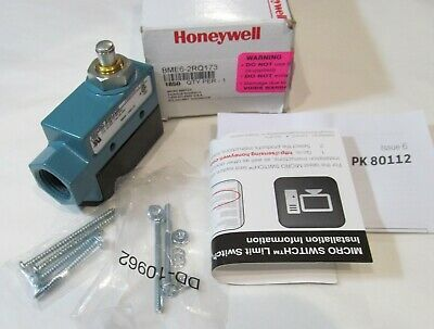 New Honeywell Bme6-2rq173 Micro Limit Switch 22a Top Plunger 14 Npt