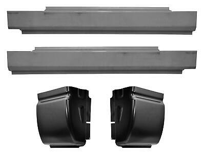 Slip-on Rocker Panel & Cab Corner Kit for 02-09 Dodge Ram 1500 Pickup Truck 2dr