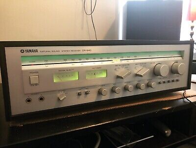 Yamaha Natural Sound CR-840 Stereo Receiver (Tested,Working)