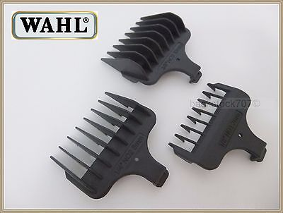 NEW Wahl 9818 T Blade Guide Comb Set Hair Beard Lithium Ion Trimmer, used for sale  USA