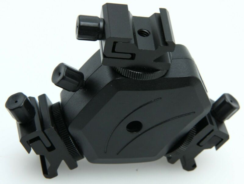 Triple Accessory Shoe Mount Adapter Flash Light Stand Umbrella Holder 392132