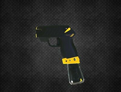 (Yellow) Grip Extension Mod For Taser Pulse / Pulse+ (Taser not included)