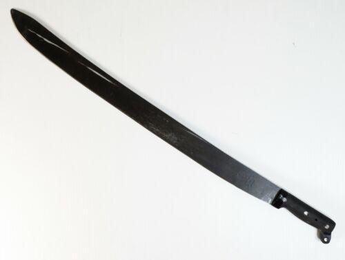 "New Old Stock Vintage Collins Legitimus 31"" Sword Machete w/ Black Finish"
