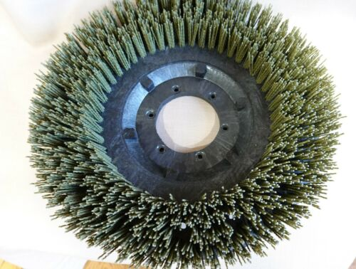 Flo Pac Nylo-Grit 13 inch Brush Green .050 bristles HEAVY SCRUB