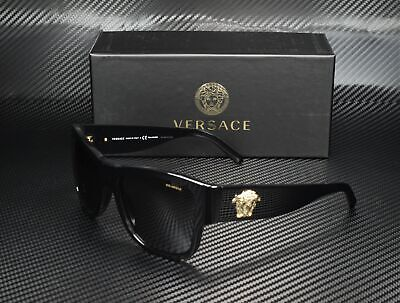 VERSACE VE4275 GB1 81 Black Polarized Grey 58 mm Men's Sunglasses