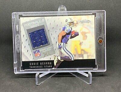 2002 Showcase Football's Best XL Eddie George Game Worn Jersey Tennessee (Best Football Jersey 2019)