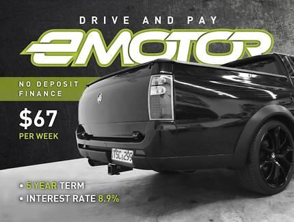 Holden Crewman Dual Fuel, service history, warranty, RWC, rego