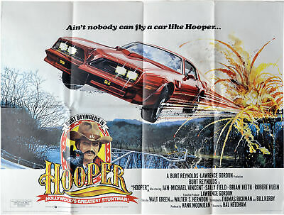 Hal Needham HOOPER Original British poster for the 1978 film #139016