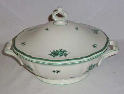 Rosenthal Chippendale Green Bloom Covered Vegetable Bowl (6 1/2