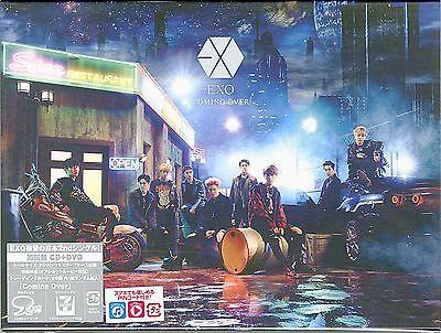 EXO-COMING OVER-JAPAN CD+DVD Ltd/Ed D73