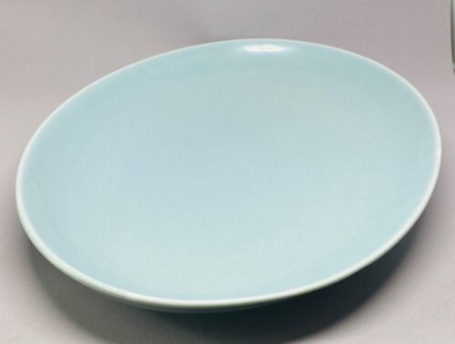 Vintage Mid Century Modern Russel Wright Iroquois Blue Platter