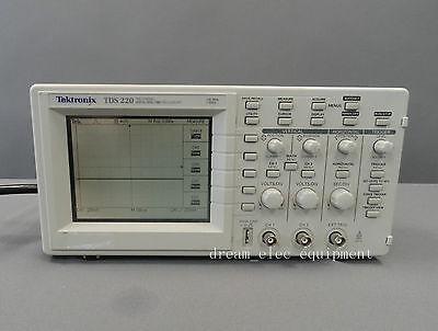 Tektronix Tds220 Digital Oscilloscope 100 Mhz 2 Channels