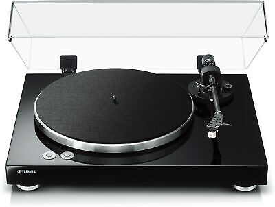 Yamaha TT-S303 Hi-Fi Vinyl Belt Drive Turntable – Piano Bl
