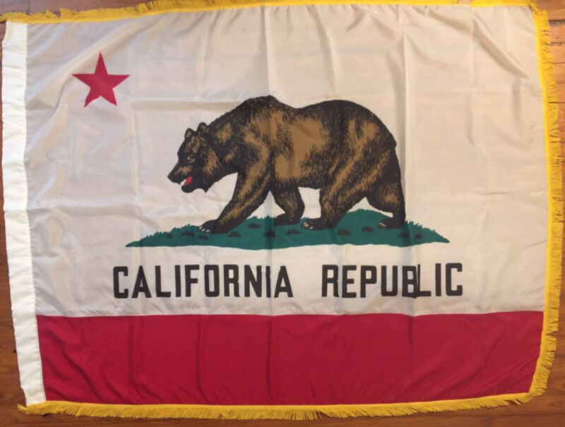 WW2 California National Guard State Colors, Army National Guard Battle Flag 1954