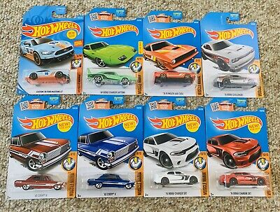 NEW HOT WHEELS MUSCLE MANIA 3+ 2016 LOT OF 7 MATTEL