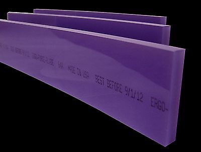 10 Ergo-force 64a Squeegee Blade Silk Screen Squeegeescreen Printing Squeegee