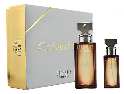 Calvin Klein Eternity Intense Woman Eau de Parfum 100ml & 30ml EDP OVP
