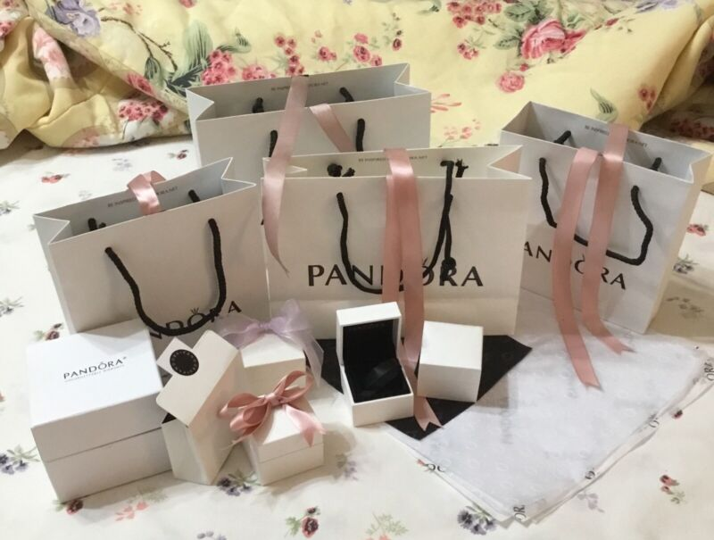 PANDORA GIFT BOXES & GIFT BAGS *NO JEWELRY*