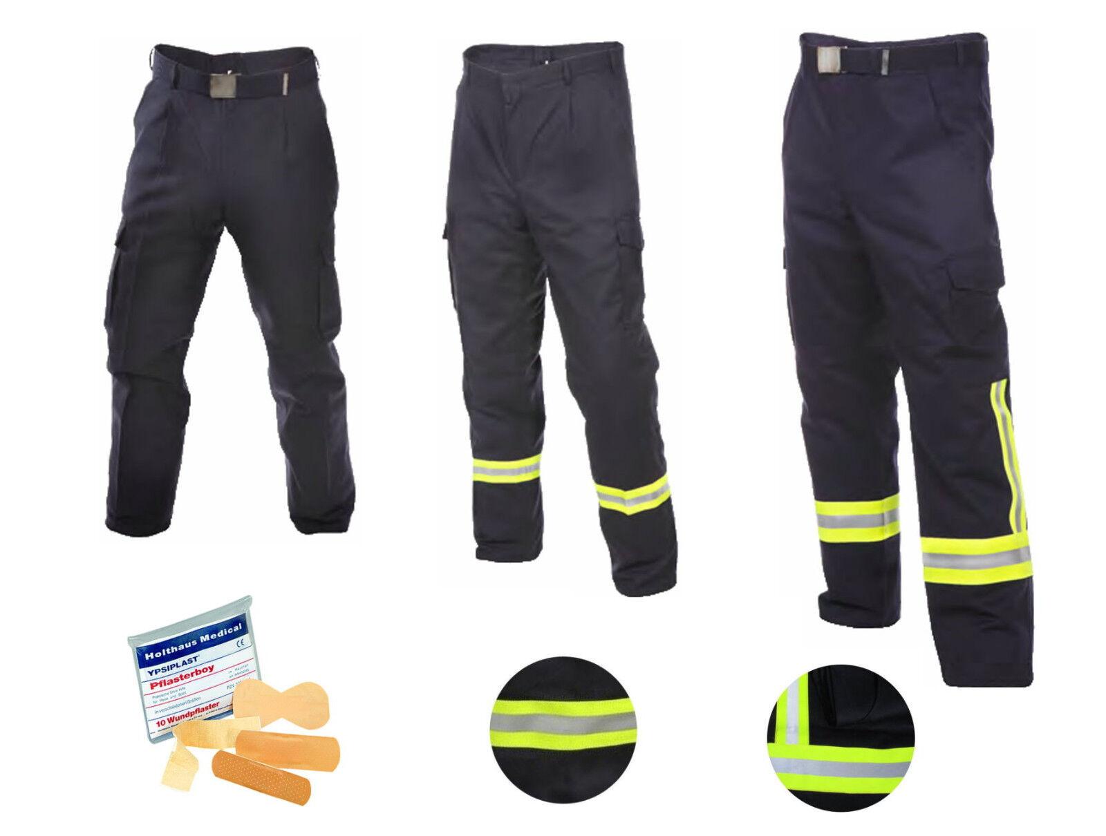 Feuerwehrhose HuPF Teil 2 (Feuerwehr-Einsatz-Bundhose mit/o. Reflex w. Überhose)
