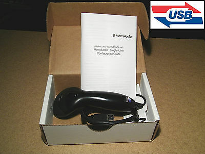 New Metrologic Ms9540 Voyager Barcode Scanner Laser Reader Usb W Manual