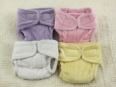 PREEMIE Plumpie Rumpie minky/fleece silicone diaper for reborn baby doll kits!