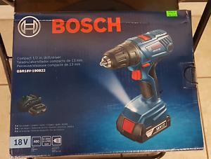 Bosch Compact 1/2 inch Drill Driver NIB