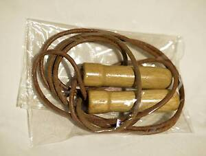 Professional leather ball bearing skipping rope Frenchs Forest Warringah Area Preview