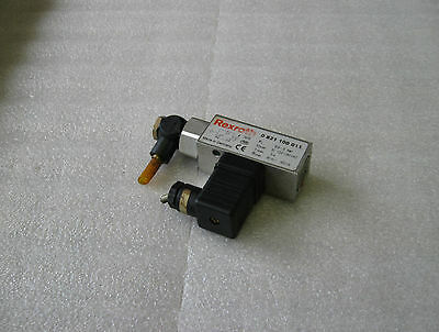 Bosch Rexroth Pressure Switch, 0 821 100 011, Used, Warranty