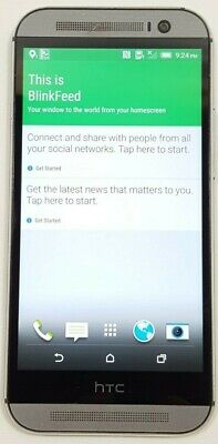 HTC One M8 32GB Gray (AT&T) Good Condition GOOD IMEI