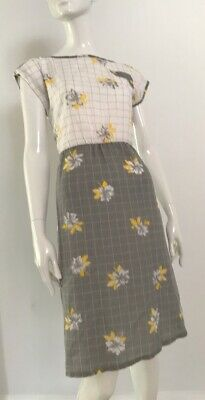 80s Dresses | Casual to Party Dresses Vintage 1980's Cotton Summer Dress $19.33 AT vintagedancer.com