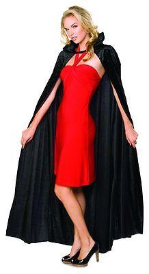 Rubies Lang Pannesamt Umhang Erwachsene Damen Halloween Kostüm (Samt Vampir Erwachsene Kostüme Damen)