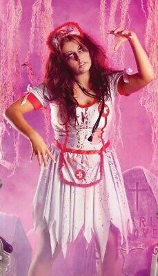 Plus Size 24 Halloween Costumes (Party King Plus Size 3X (22-24) Zombie Nurse Halloween Complete Costume)