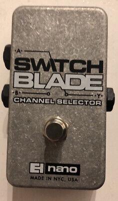 Electro Harmonix pedal Switchblade. Channel Switcher