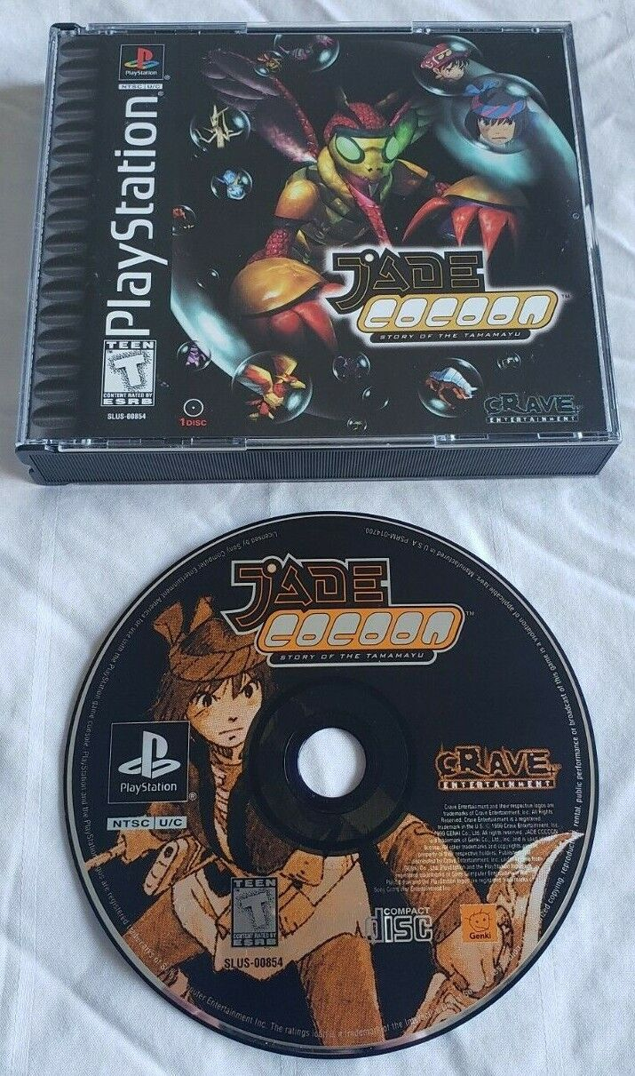 JADE COCOON STORY OF THE TAMAMAYU W/ CASE TESTED PS1 PlayStation 1 RPG PSX - $79.95