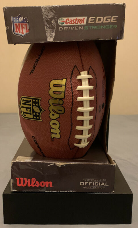 Wilson Castrol Edge Limited Edition NFL  All Team Football Official Size